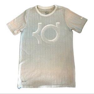 Nike KD Boys Wavy Dri-Fit Short Sleeve T-Shirt M